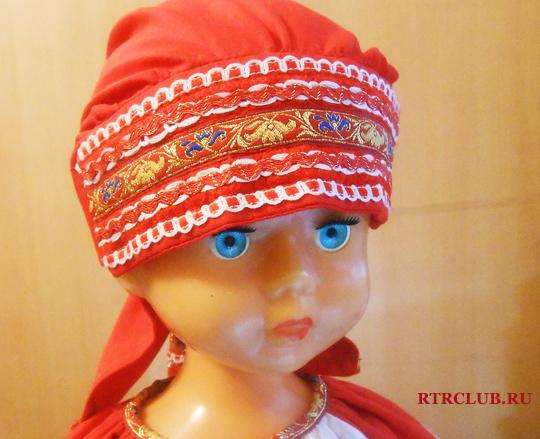 Русский народный женский головной убор своими руками